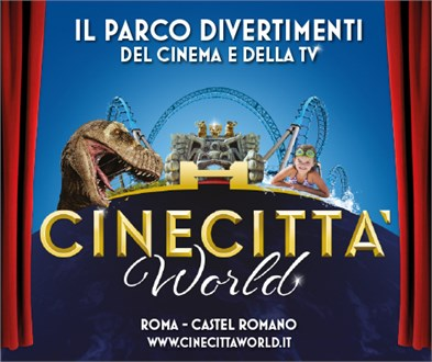 "RADIO AZZURRA È PARTNER DI ""CINECITTÀ WORLD"""